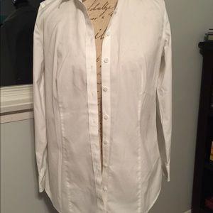 Talbots Tops - Talbots Classic White Button Down Shirt Size 6